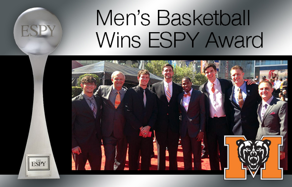 Mercer Basketball Wins ESPY Award