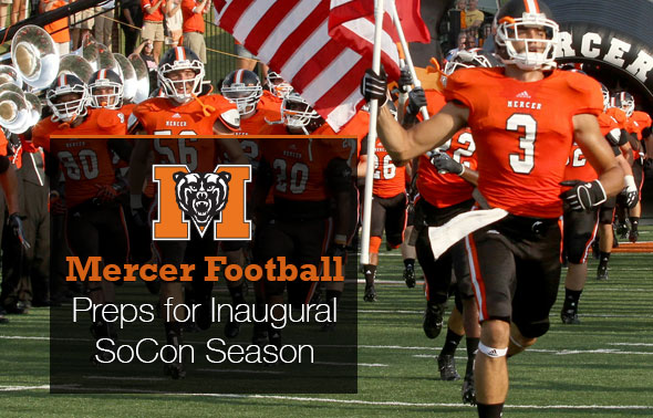 Mercer Preps for Inaugeral SoCon Season