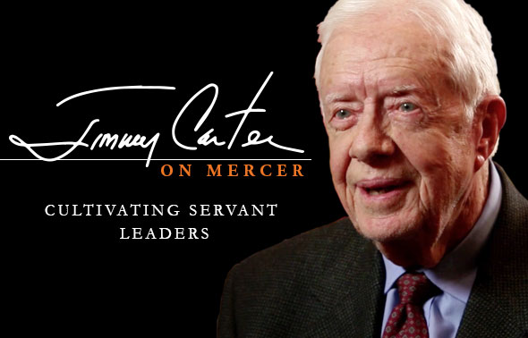 Jimmy Carter on Mercer