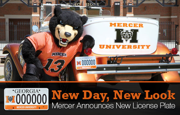 Mercer License Plate