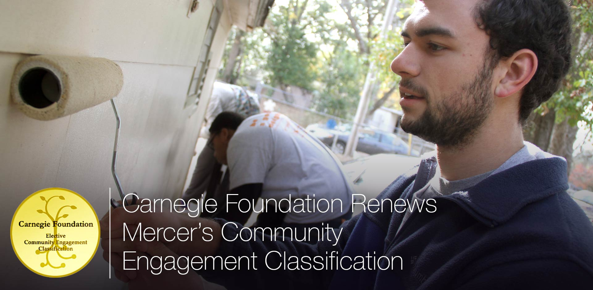 Carnegie Foundation Renews Mercer's Community Engagement Classification