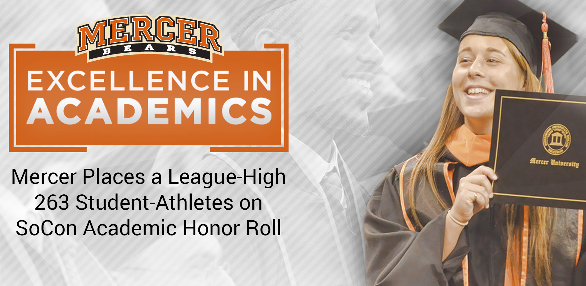 Mercer Places a League-High 263 Student-Athletes on SoCon Academic Honor Roll