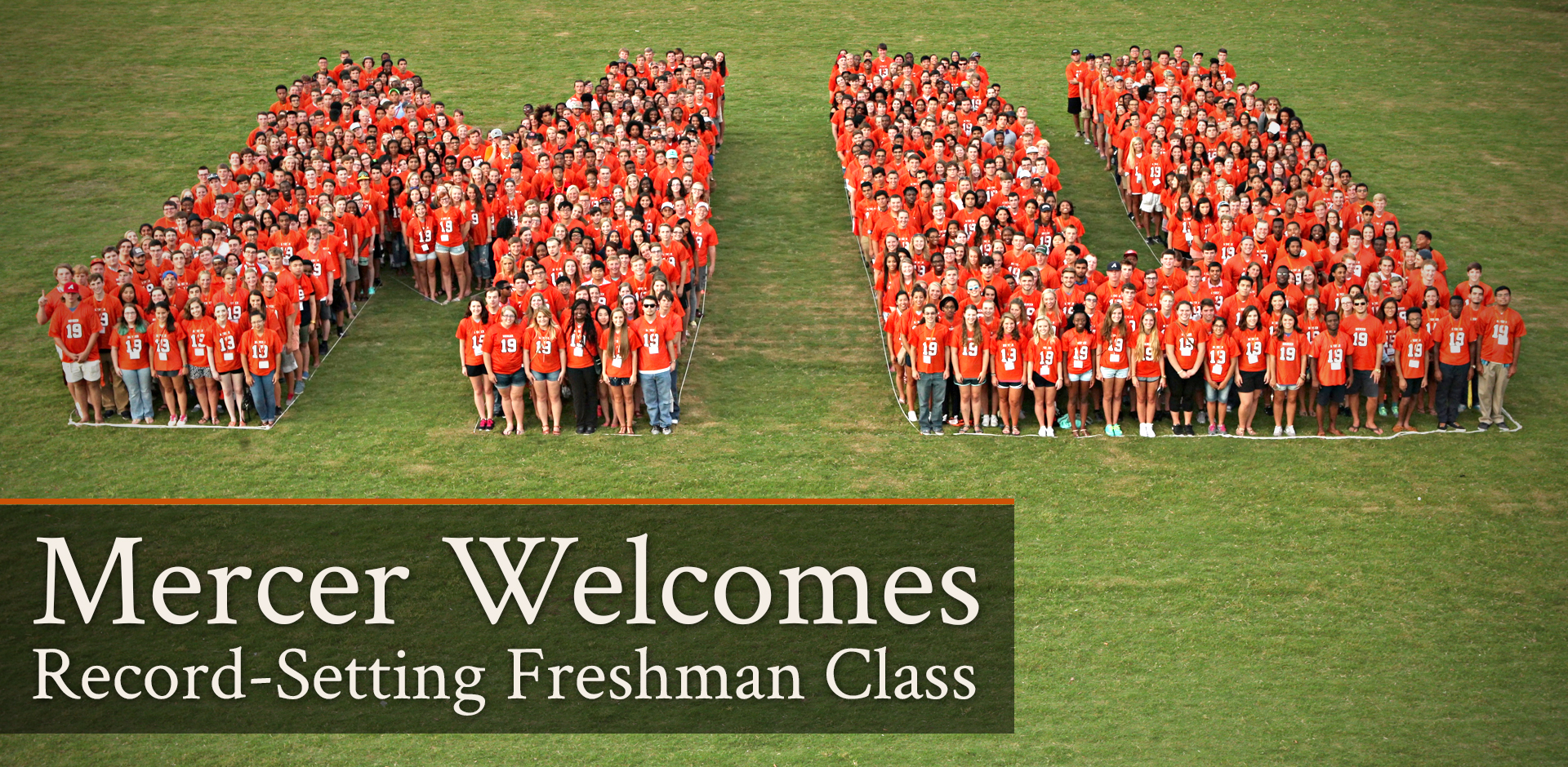 Mercer Welcome Record-Setting Freshman Class