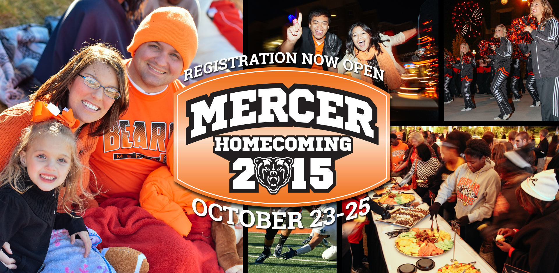 Mercer Homecoming Registration Now Open