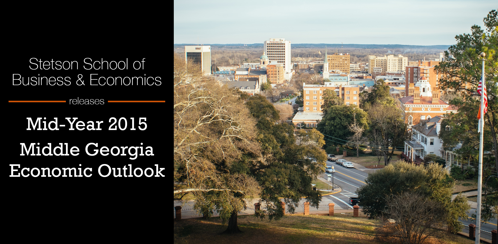 BB&T Center for Undergraduate Research in Public Policy and Capitalism Releases Results of Mid-Year Middle Georgia Economic Outlook Survey