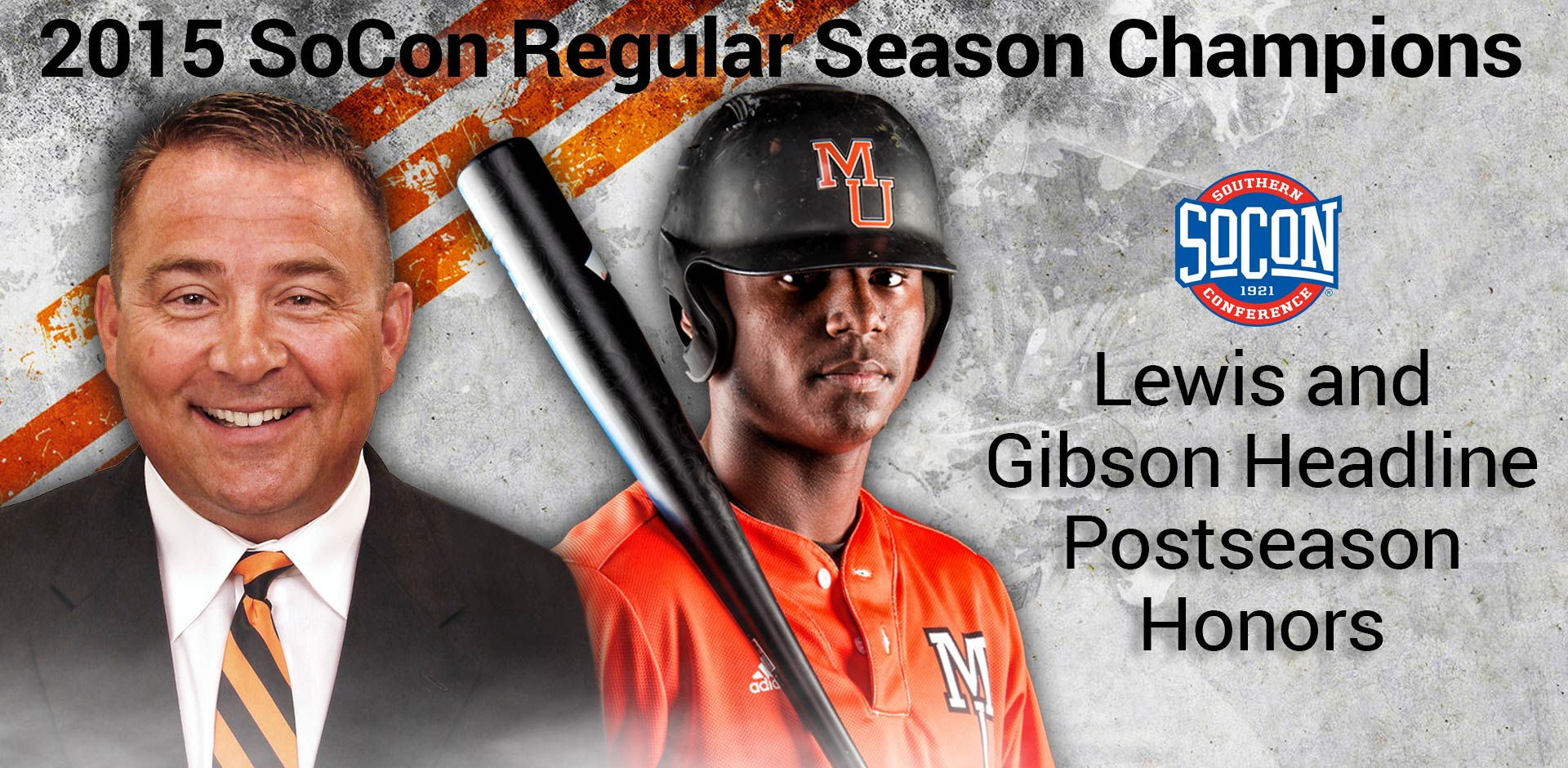 Lewis and Gibson Headline Mercer's Postseason Honors
