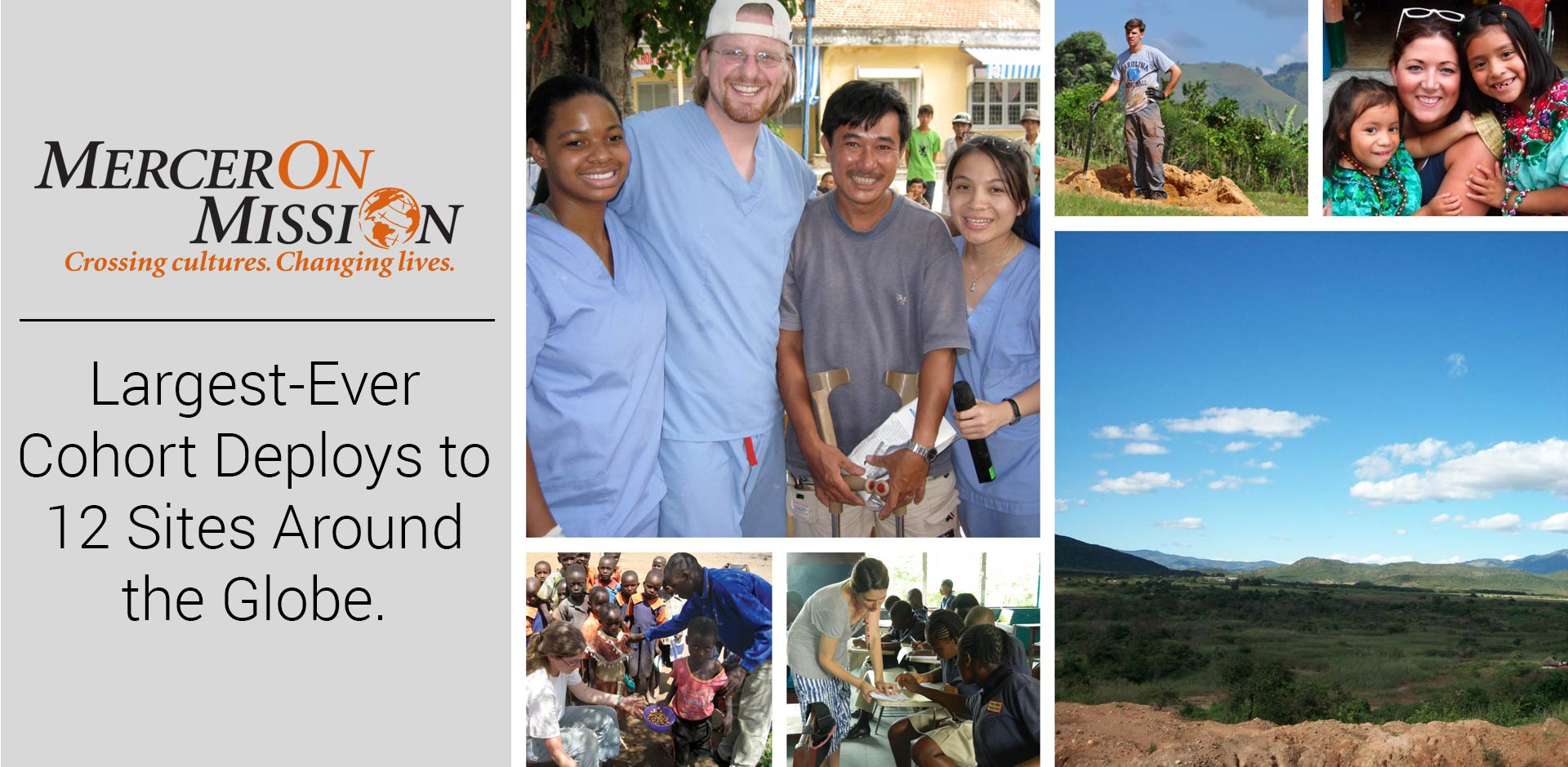 Mercer On Mission to Deploy Largest-Ever Cohort to 12 Sites Around the Globe